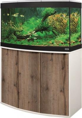 Aquarium et meuble Fluval Vicenza LED 180L couleur Chêne et Blanc