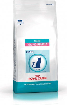 Royal Canin Veterinary Care Diet Nutrition-Skin - Young female pour chat