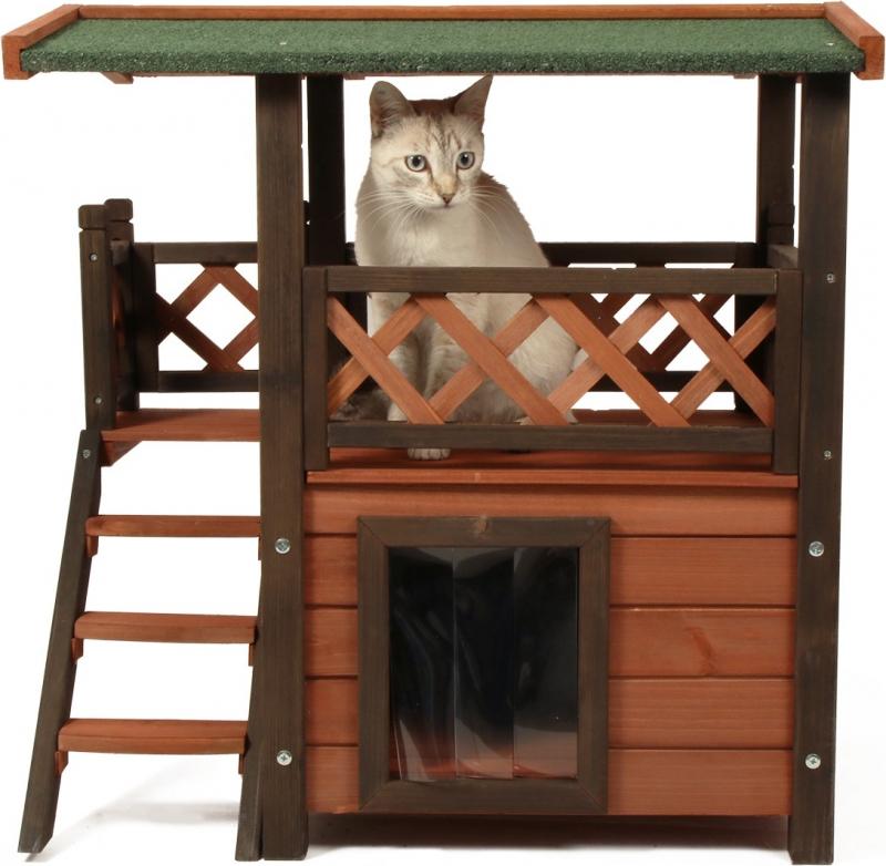 Maisonnette pour chat Zolia Miky Lodge