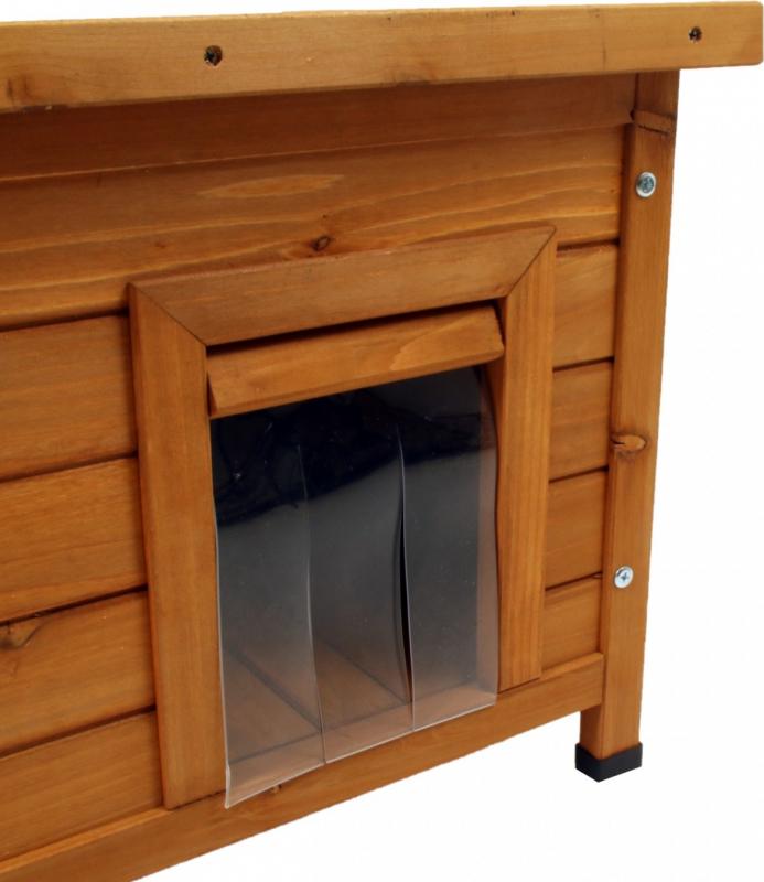 Maisonnette en bois Zolia Twixie pour chat