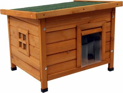 Holzhütte für Katzen Twixie Zolia