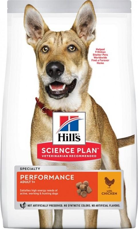 HILL'S Science Plan Adult Performance pour chien adulte très actif