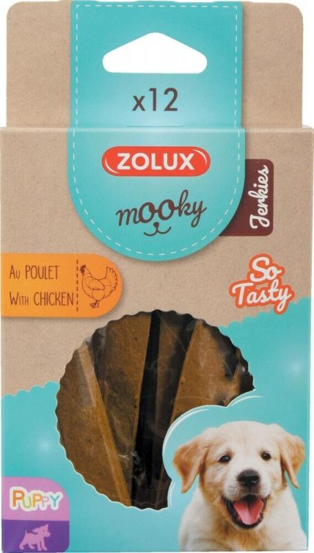 Friandise pour chiot MOOKY barres plates au poulet