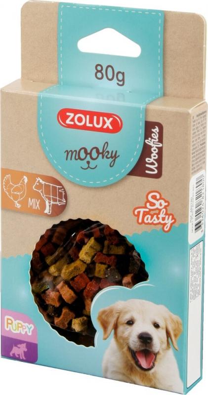 Friandise pour chiot MOOKY mini os mix poulet et bœuf