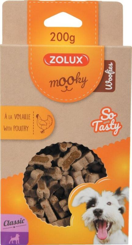 Friandise pour chien MOOKY classic mini os volailles