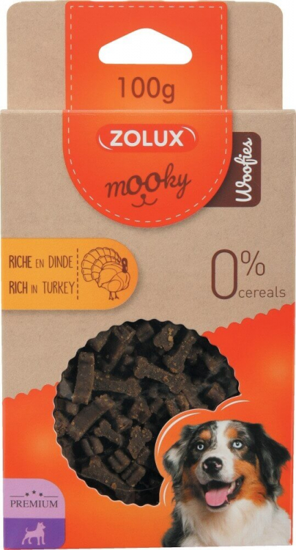 Friandise pour chien MOOKY premium à la dinde sans céréales