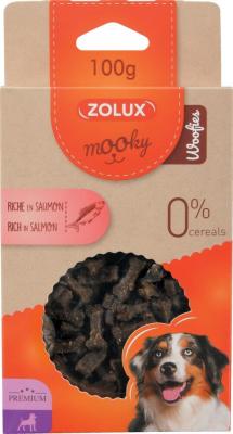 Friandise pour chien MOOKY premium au saumon sans céréales