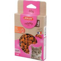 Friandise pour chat MOOKY croquettes au saumon - Beauté du poil