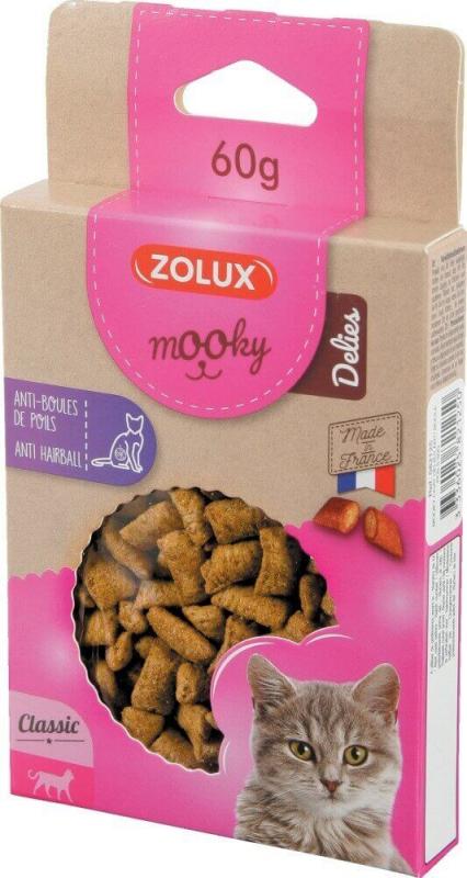Friandise pour chat MOOKY croquettes anti boules de poils