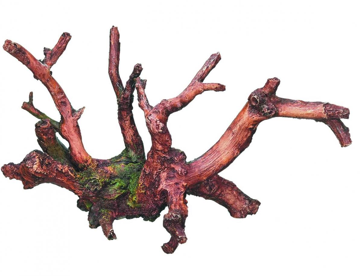 D coration aquarium racine avec mousse d cor fantaisie - Mousse decoration ...