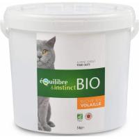 Equilibre & Instinct Croquettes BIO pour chat adulte volaille fraîche