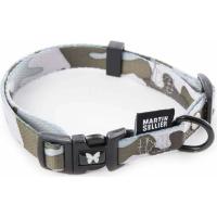 Collier pour chien Camouflage Gris