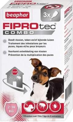 FIPROtec Combo, pipetas anti-pulgas y anti-garrapatas para perro