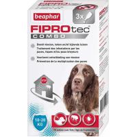 FIPROtec Combo, pipettes anti puces et anti tiques pour chien
