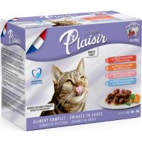 Equilibre & Instinct Pack Repas plaisir émincés en sauce pour chat stérilisé