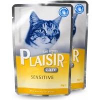 Pack de 12 Equilibre & Instinct Repas plaisir Care Sensibilité pour chat Adulte