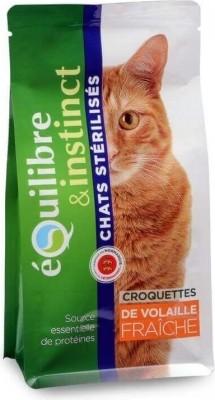 Equilibre & Instinct Croquettes pour chat stérilisé