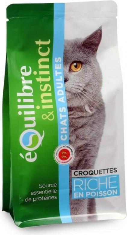 Equilibre & Instinct Croquettes pour chat adulte poisson