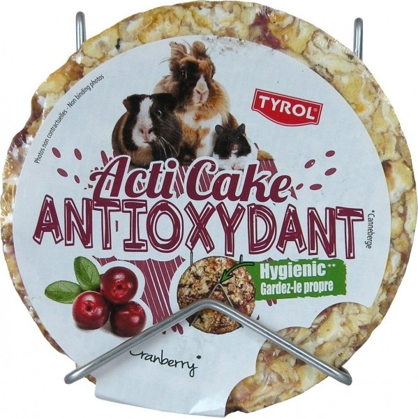 Tryol Acticake Antioxidant pour lapins et rongeurs