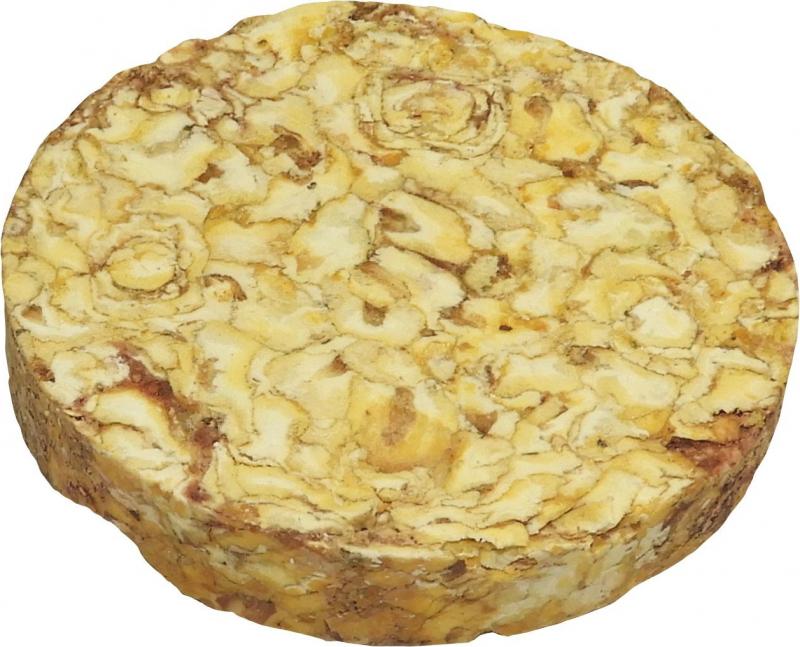 TYROL Friandise Palet Compressé Mais soufflé et Cranberry, Acti'Cake Antioxydant pour Rongeur et Lapin. Friandise saine et gourmande. 100G