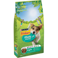 Croquettes Friskies Mini Menu Light pour chien Adulte