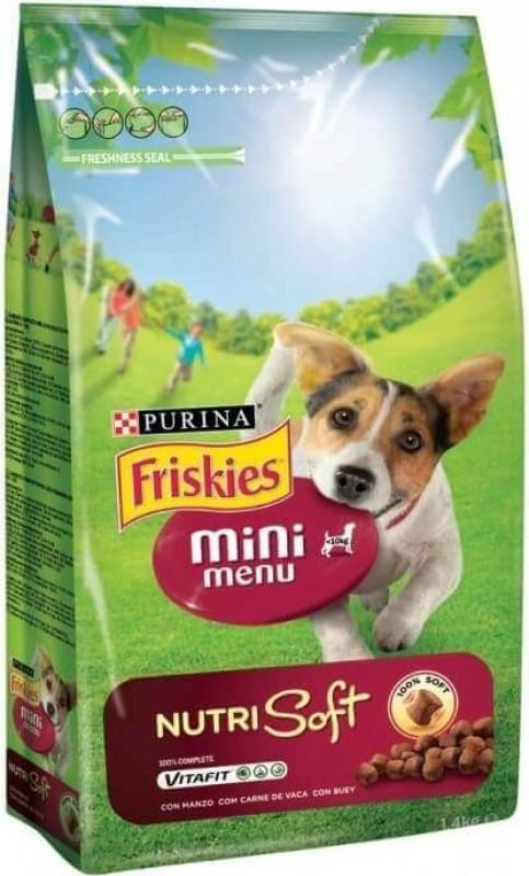 Croquettes Friskies Mini Menu Nutri Soft pour chien Adulte