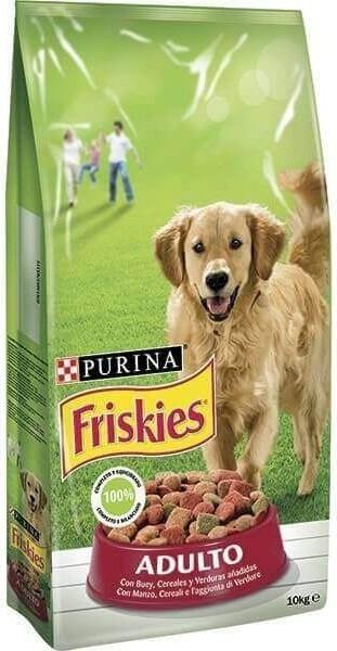 Croquettes Friskies pour chien Adulte Boeuf