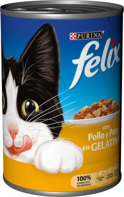 FELIX boîte pour chat en gelée - 2 saveurs au choix