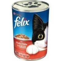 FELIX boite pour chat en gelée - 2 saveurs au choix