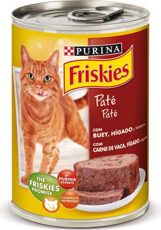 Pâtée Friskies pour Chat Adulte Boeuf et Foie