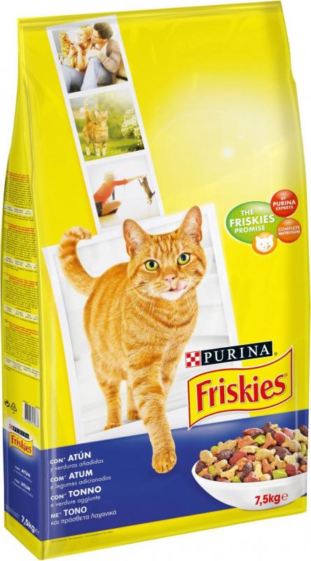 Friskies Poissons pour Chat Adulte