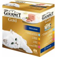 Pâtée GOURMET Gold mousse - plusieurs saveurs au choix