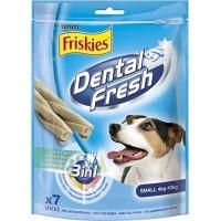 Friandises Friskies Dental Fresh à la menthe pour petit chien