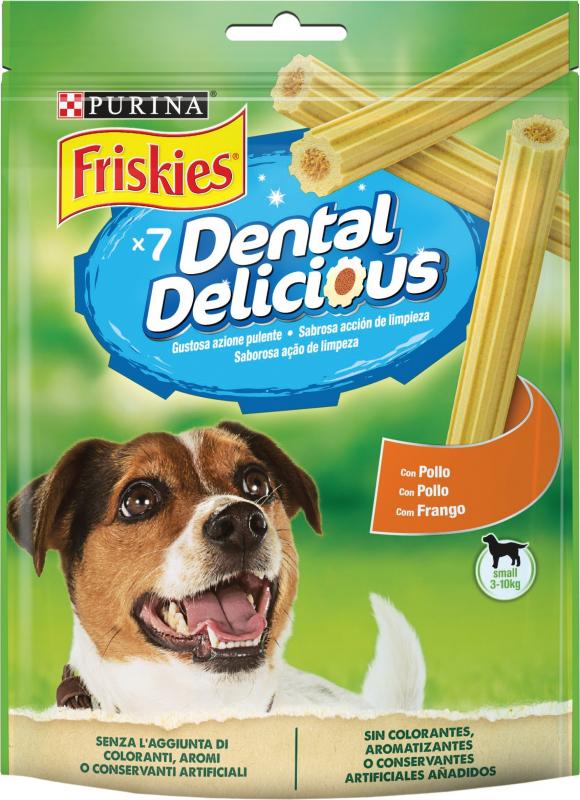 Friandises Friskies Dental Delicious bâtonnets pour chien