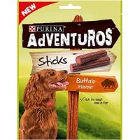 Friandises Adventuros Sticks Bison sauvage pour chien
