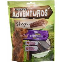 Friandises Adventuros Strips Saveur Cerf sauvage pour chien