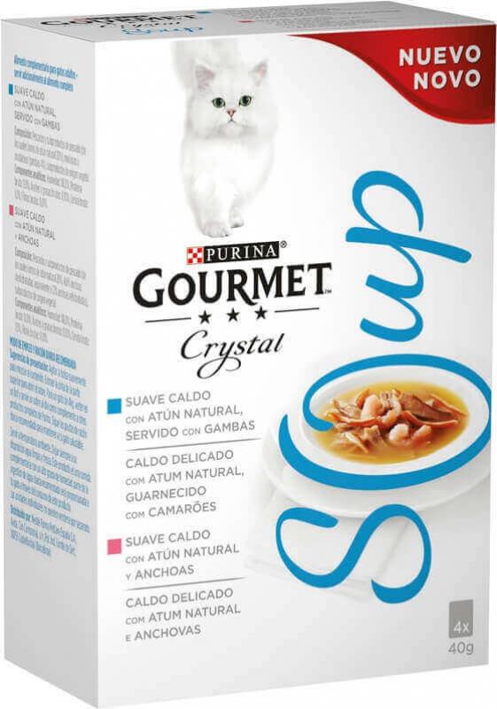 GOURMET Crystal Soupe - plusieurs saveurs au choix