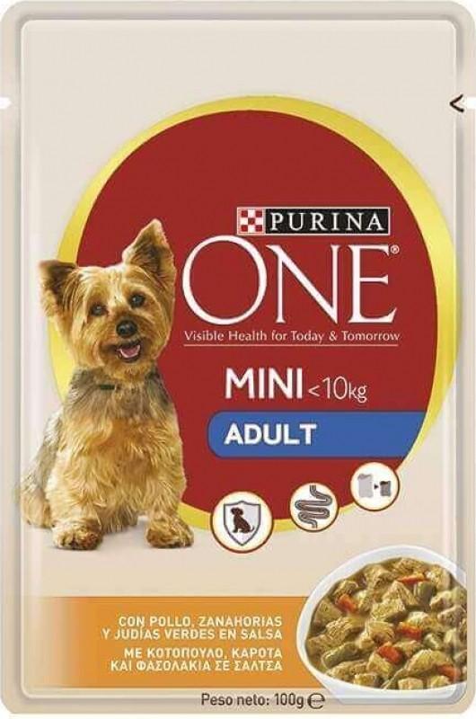 Pâtée Purina ONE Mini Adult Hund