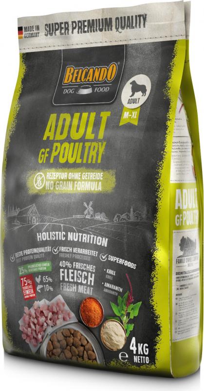 Belcando Adult GF Poultry à la volaille pour chien adulte
