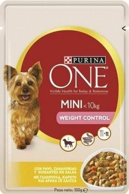 Pâtée Purina ONE Mini Weight Contol Light Chien Adulte