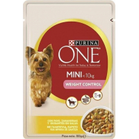 Pâtée Purina ONE Mini Weight Control Light Chien Adulte