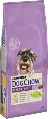 DOG CHOW para perro adulto SENIOR con pollo