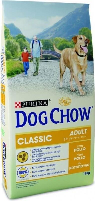 DOG CHOW Classic pour chien adulte poulet