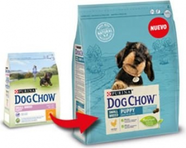 DOG CHOW Small breed Puppy pour chiots de petite taille