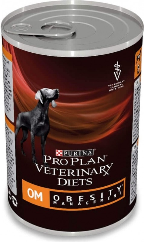 Pâtée Pro Plan Veterinary Diets Canine OM Obesity Management - 400g