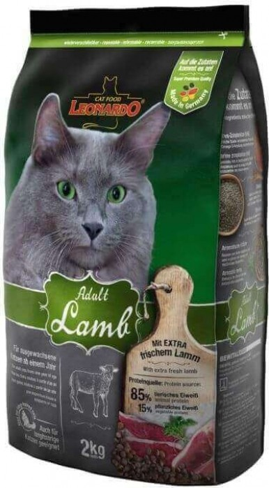 Leonardo Adult Lamb à l'Agneau pour chat adulte