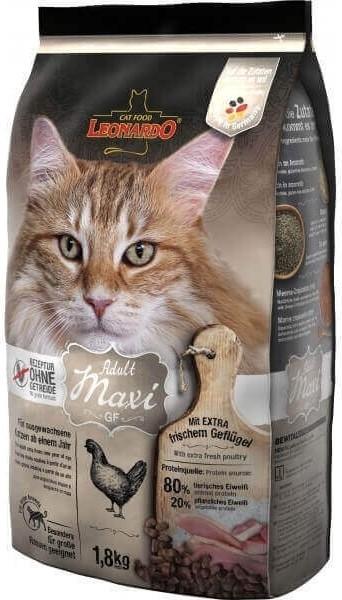 Leonardo Adult Maxi GF à la volaille pour chat adulte de grande race