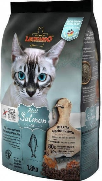 Leonardo Adult GF Salmon au saumon pour chat adulte