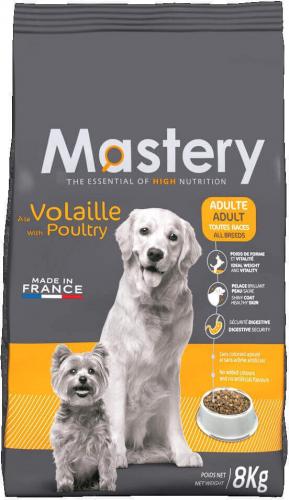 Mastery con ave para perro adulto. Super premium