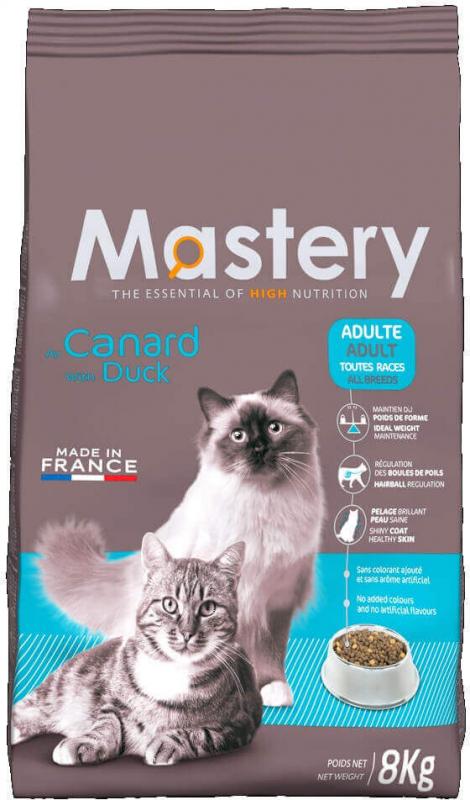 Mastery Cat Adult, met eend